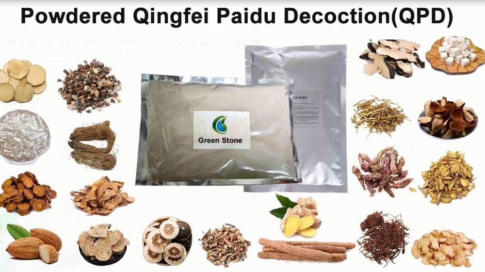 Powdered Qingfei Paidu Decoction is over 90% effective