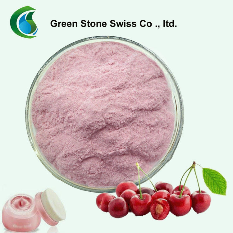 Anti-aging Natural Acerola Cherry Extract 17%, 25% Vitamin C Acerola Cherry Extract Powder