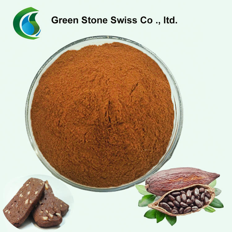 Cocoa Extract Powder Herbal Extraction Plant