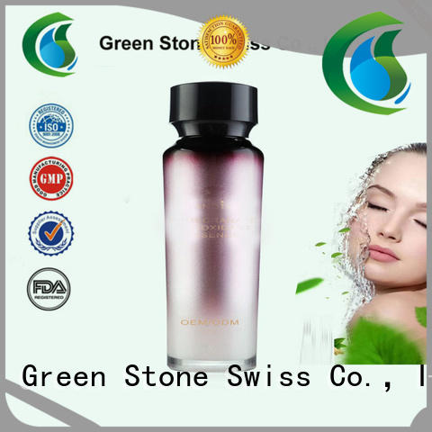 Green Stone serum anti acne formula overseas market for makeup