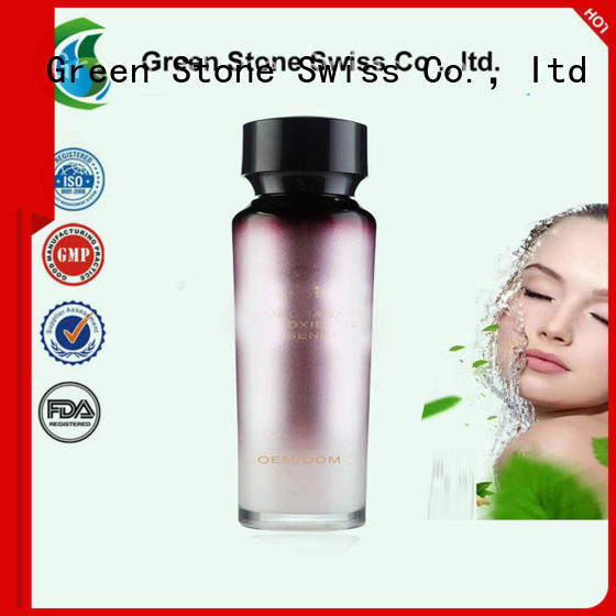 Green Stone skin revitalizer face whitening cream formula overseas market for sensitive skin