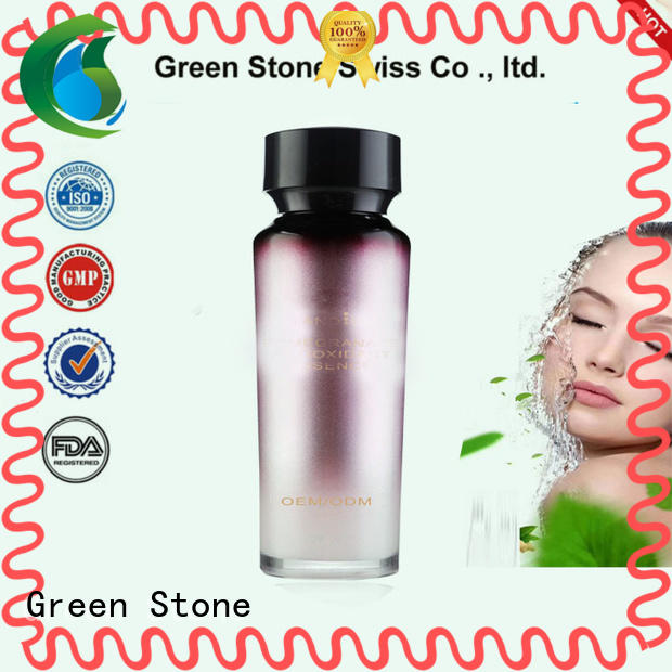 Green Stone natural face whitening cream formula overseas market for sensitive skin