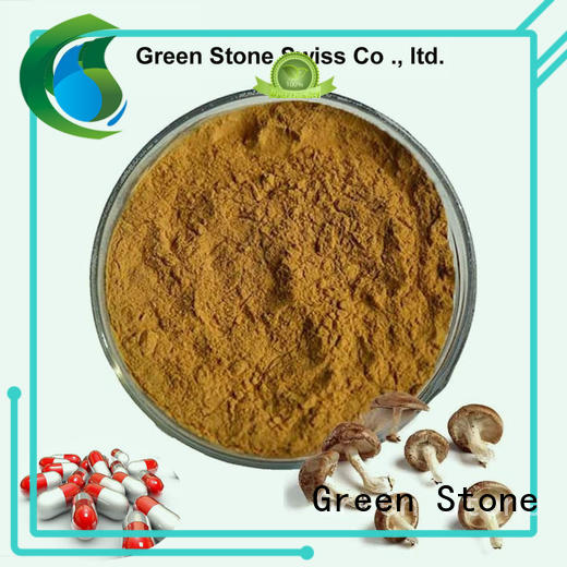 Green Stone first class organic mushroom extract factory price for cosmetics
