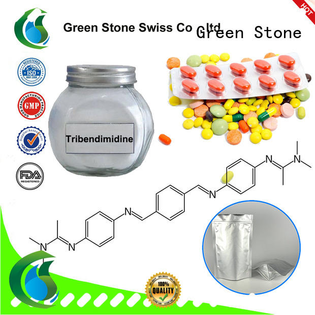 Green Stone iso medicine ingredients series for crystal