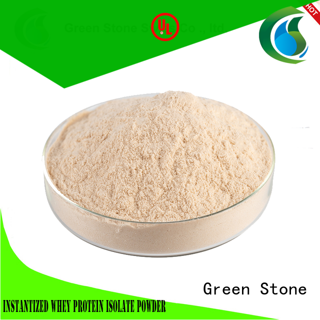 Green Stone hydrolyzed benefit cosmetics ingredients for food industries