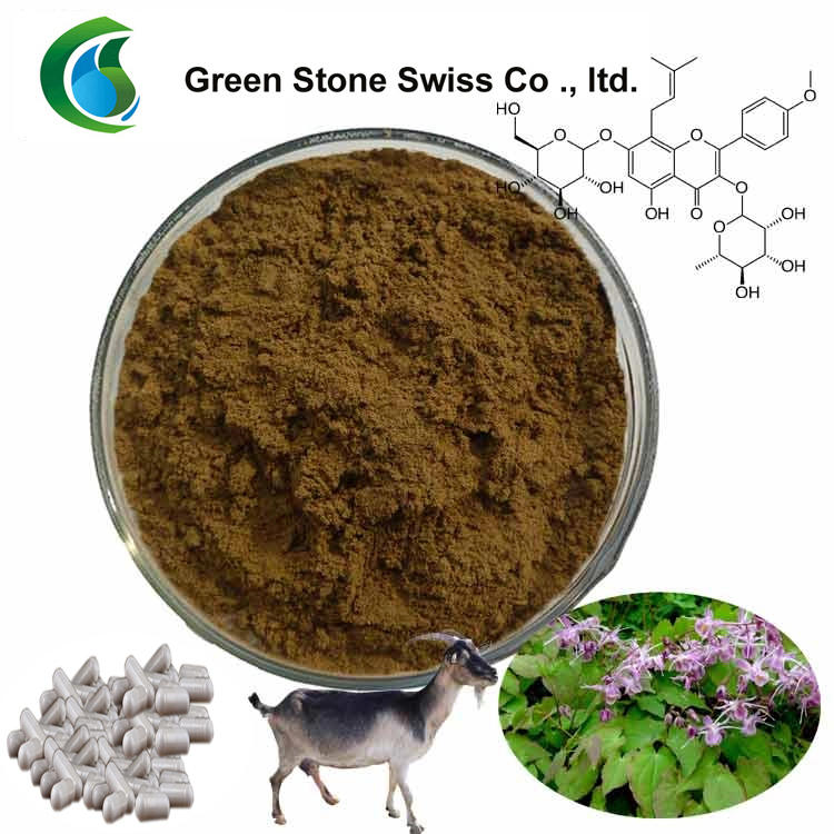 Organic Plant Extracts Epimedium Icariin Powder