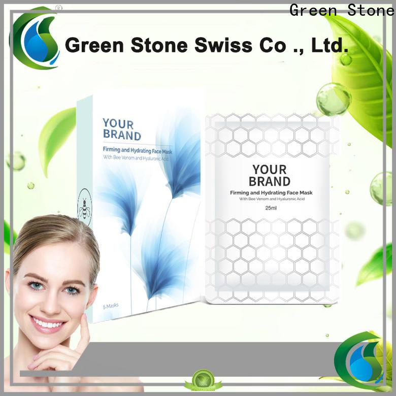 Green Stone nourishing whitening cream formula marketing