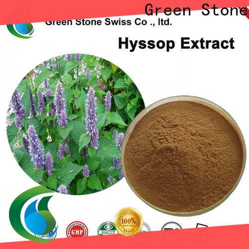 Green Stone oleuropein chinese herbal extracts factory price for food