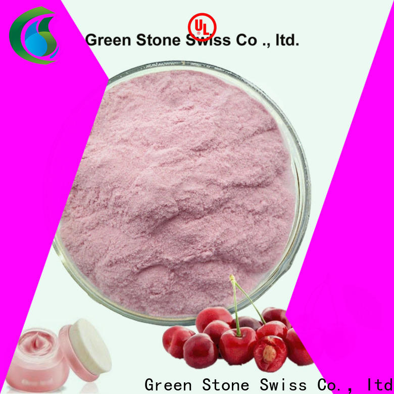 Green Stone cherry pure stevia extract factory price for health care products