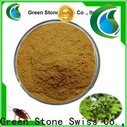 Green Stone black pure stevia extract owner for health care products