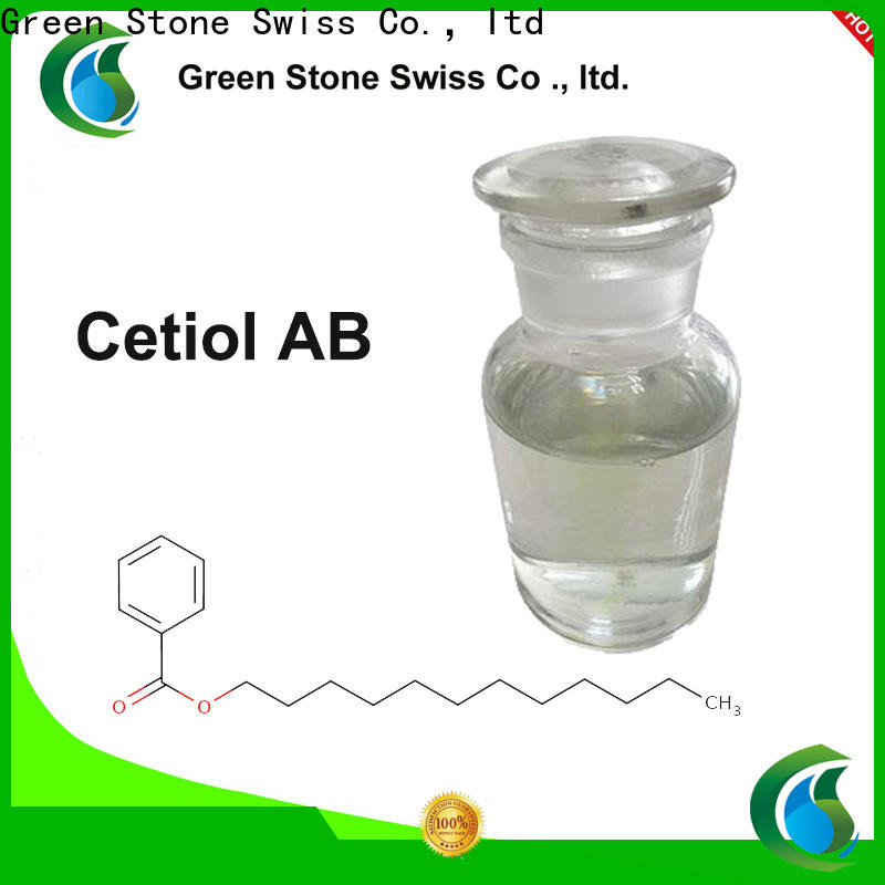 Green Stone argireline chemicals in cosmetics manufacturer