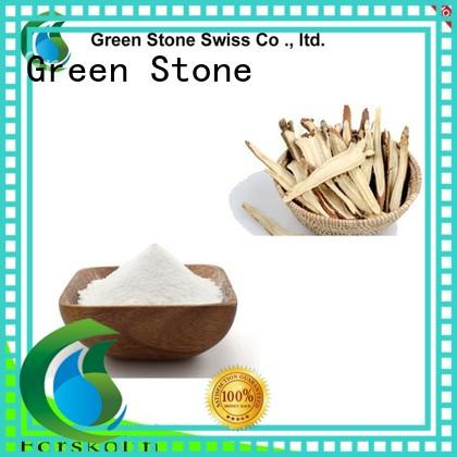 Green Stone natural benefit cosmetics ingredients supplier for medicinal