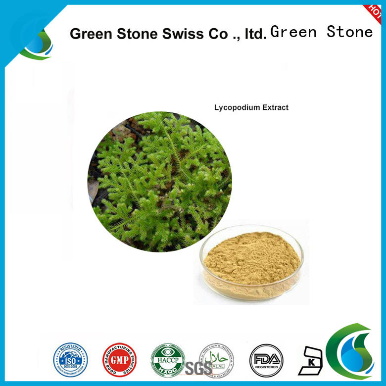 Green Stone hot sale herbal extracts personalized for health care products
